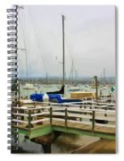 Newport Bay And Balboa Island Spiral Notebook