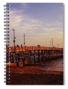 Newport Beach Glow Spiral Notebook