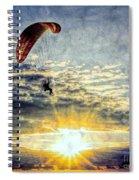 Newport Beach High Flyer Spiral Notebook