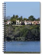 Newport Estuary Looking Across At Homes I Spiral Notebook
