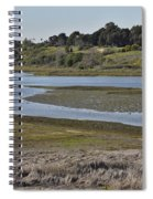 Newport Estuary Looking Across At Visitors Center  Spiral Notebook