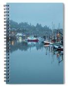 Newport Fishing Boats Spiral Notebook