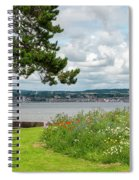 Newport-on-tay In Fife, Scotland Spiral Notebook
