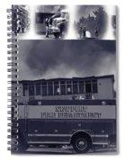 Newport Oregon Fire Department Drill - Practice Fire Drills Spiral Notebook