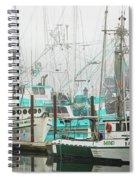 Newport, Oregon Fishing Fleet Spiral Notebook