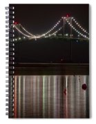 Newport Pell Bridge Spiral Notebook