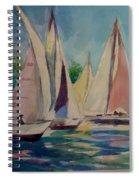 Newport Regatta  Spiral Notebook