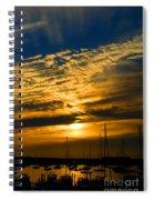 Newport Sunset Spiral Notebook