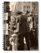 News Of The Attack On Pearl Harbor - San Francisco 8 Dec 1941 Spiral Notebook
