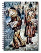 Newsboy Spiral Notebook