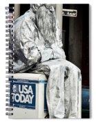 Newsworthy Mime Spiral Notebook