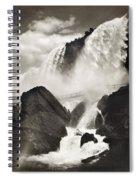 Niagara Falls, C1888 Spiral Notebook