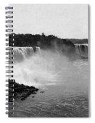 Niagara Falls, C1900 Spiral Notebook