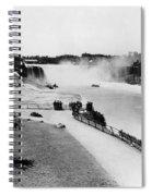 Niagara Falls, C1905 Spiral Notebook