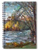 Niagara Falls Lake Spiral Notebook