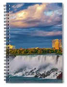 Niagara Falls - The American Side 3 Spiral Notebook