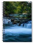 Niagara River Above The Falls_dsc8569_16 Spiral Notebook