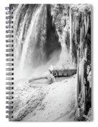 Niagra Winter Scene 1 Spiral Notebook