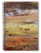 Nicaragua Mud Pots Spiral Notebook
