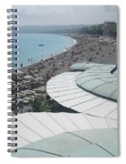 Nice By The Sea. Spiral Notebook