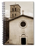Nice Old Church For Wedding Spiral Notebook