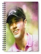 Nick Dougherty In The Golf Trophee Hassan II In Morocco Spiral Notebook