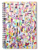 Nick Of Time Spiral Notebook