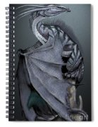 Nickel Dragon Spiral Notebook