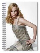 Nicole Kidman Spiral Notebook