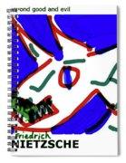 Nietzsche Poster Spiral Notebook