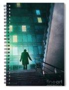 Night Agent Spiral Notebook