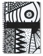 Night And Day 3 Spiral Notebook