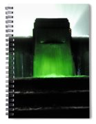 Night At Mulholland Fountain Spiral Notebook
