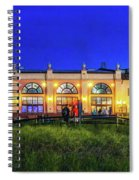Night At The Ocean City Music Pier Spiral Notebook
