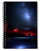 Night At Pirate's Lagoon Spiral Notebook