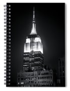 Night At The Empire State Building Spiral Notebook