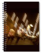 Night At The Mall Spiral Notebook