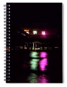 Night At The Pier 60 Spiral Notebook