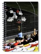 Night At The Races Spiral Notebook