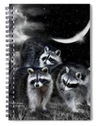 Night Bandits Spiral Notebook