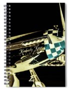 Night Beauty Spiral Notebook