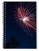 Night Bloom Spiral Notebook