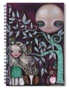 Night Creatures Spiral Notebook
