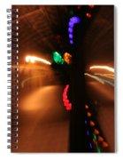Night Diptych 2 Spiral Notebook