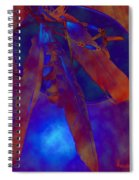 Night Feathers   -019 Spiral Notebook