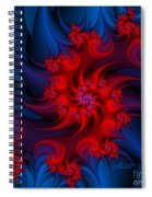 Night Fire Spiral Notebook