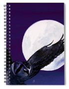 Night Flight Spiral Notebook