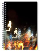 Night Forest - Light Spirits Limited Edition 1 Of 1 Spiral Notebook