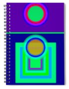 Night Game Spiral Notebook