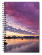 Night Gives Way To Dawn Spiral Notebook